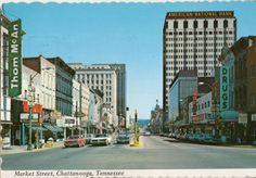 Chattanooga TN~Market Street  1974