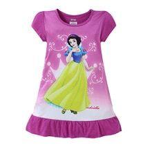 Girl's Cartoon Printed Sleepwear Girls Sleepwear, Girls Pajamas, Princess Outfits, Girl Outfits, Disney Princess, Snow Dress, Summer Pajamas, Girls Dresses, Summer Dresses