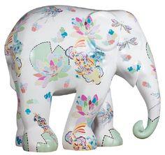 moonlight kiss 2014 hong kong Asian Elephant, Elephant Love, Elephant Design, Elephant Art, Elephant Stuff, All About Elephants, Baby Elephants, Painted Elephants, Giraffes