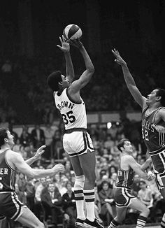 Roger Brown with ABA Pacers
