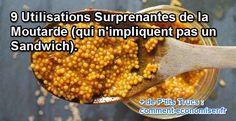 Que ce soit pour votre santé, votre beauté ou encore votre jardin, voici les 9 utilisations les plus incroyables de la moutarde. Regardez :-)  Découvrez l'astuce ici : http://www.comment-economiser.fr/9-utilisations-moutarde.html?utm_content=buffer00b09&utm_medium=social&utm_source=pinterest.com&utm_campaign=buffer