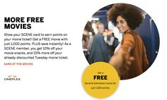I know it's really hard to believe but I did earn over 20 Free Movie Tickets, it just from my Scene Reward points in the last 12 months. Do you know how I did this?  Just by using my none other than Scotia Scene Visa Credit Card.