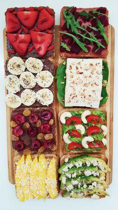 8 Yummy Toast Ideas