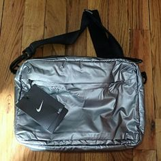 Nike Silver Colored Side Purse Bag - NWT ?? Brand new, never used, no damage. Capacity: 427 cu in.   ?? Smoke-free, pet-free household.   ?? No trades/swaps!  ?? No holds!  ?? No low-balling!  ?? No PayPal!   ? Reasonable offers welcomed! Please use the offer button so I know you are serious about the item! I will not respond to price negotiations via comments.  ? I love bundling! Not only will you get ONE shipping fee, I will also discount your combined total! Please ask me in the comments…