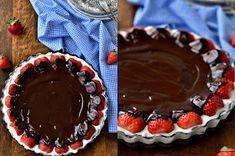 Pradobroty: Míša řezy - odlehčená verze Chocolate Fondue, Pie, Cakes, Torte, Cake, Cake Makers, Fruit Cakes, Kuchen, Pies