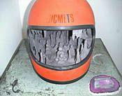 Chihiro Mori helmet stalactite cave group of pupils 2006