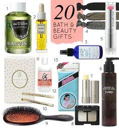 20 Great Beauty & Bath Gifts - Design*Sponge