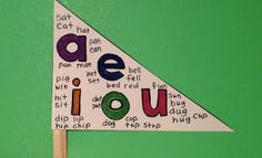 We're Going on a Vowel Hunt! Download this free vowel flag activity along with 3 differentiated recording sheets to go on a vowel hunt on your word walls and around your room. Children can color in the vowels and also record the words directly on their flags. Send them home for a home-school connection.