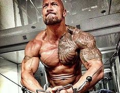 The Rock Dwayne Johnson Training Legs & Squatting! Dwayne 'The Rock' Johnson is a wrestling icon turned movie superstar who has a passion for hard work, dedication and success. The Rock Workout, The Rock Dwayne Johnson Workout, Workout Pics, Workout Meal Plan, Gym Workouts, Chest Workouts, Workout Ideas, Dwayne Johnson Body, Movie Workouts