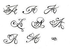 Initial tattoo ideas 91