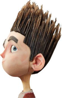 ParaNorman Norman Original Animation Puppet (LAIKA, It's Norman. in his jeans, varsity-type shirt and red - Available at 2015 February 12 The Art of. Clay Animation, Laika Studios, Tim Burton Films, Puppet Making, Plasticine, Skull Face, 3d Prints, Sculpture, Stop Motion