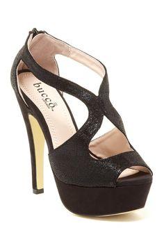 51a1d21a470fd Sandal Black Glitter Heels