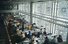 Institut Du Monde Arabe, Paris, France, Jean Nouvel, 1987