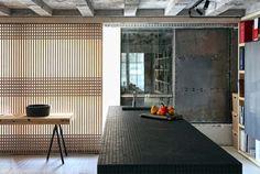 Loft ad Atene in stile giapponese