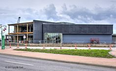 April 16, 2017.  New Wichita Library starting to look like its eventual self.