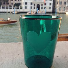 Heart Green Glass - Shop Giberto Arrivabene online at Artemest