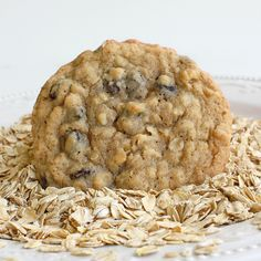 Chewy Oatmeal Raisin Cookies | The Girl Who Ate Everything