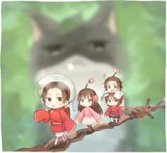 Never played Pikmin, but this crossover is adorable ^.^