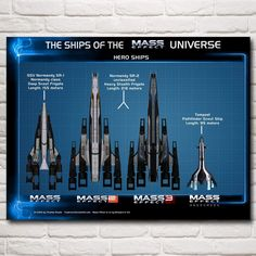 Mass Effect Normandy Silk Poster