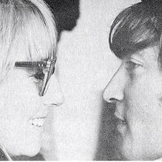 John and Cynthia Lennon. Many will disagree, but they were in love. And they both knew it.