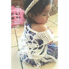 Miss Penelope Rosette  #bettyloops #customcrochet #crochetaddict #etsy #etsyshop #supportsmallbusiness #shopsmall #etsyusa #etsyca #etsyforall #etsyfavorites #etsyelite #etsyhunter #etsyspotlight #summer2015 #crochetvest #beach #beachcoverup #bohemian