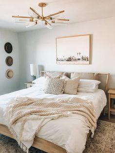 Tan Bedroom, Peaceful Bedroom, Room Ideas Bedroom, Home Decor Bedroom, Modern Bedroom, Master Bedroom, Neutral Bedroom Decor, Neutral Colored Bedroom, Bright Bedroom Ideas