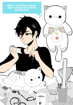 Tadashi Hamada One Shots - Hiro's very own Bay-Meow - Wattpad Cute Disney, Disney Dream, Disney Magic, Hiro Big Hero 6, The Big Hero, Tadashi Hamada, Hiro Hamada, Film Disney, Disney Art