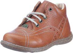 Kavat KOTTE 90421 - Zapatos para bebé de cuero para niños, color marrón, talla 19