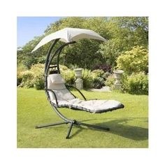 Garden Lounge Chair Swing Canopy Seat Patio Furniture Helicopter Pool Lounger