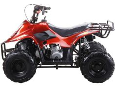 110cc Four Wheelers 6 Tires Atvs, Spider Black [Was: $800.00 - Buy Now: $431.51 ]