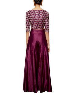 Indian Fashion Designers - Anita Dongre - Contemporary Indian Designer - The Karunya Sharara - Sharara Designs, Lehenga Designs, Ethnic Fashion, Indian Fashion, Fashion Pants, Fashion Outfits, Anita Dongre, Beautiful Suit, Pakistani Outfits