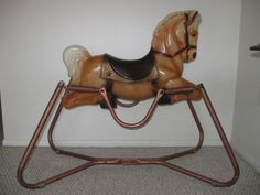 I loved my jumping horse. Wish I had one to ride now...what a fun way to burn calories while watching tv!