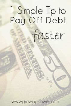 Start Paying Off Debt.even with no extra money Find out how this one simple tip can help you get out of debt YEARS faster. Find out how this one simple tip can help you get out of debt YEARS faster. Financial Peace, Financial Tips, Budgeting Finances, Budgeting Tips, Ways To Save Money, Money Saving Tips, Money Tips, Mo Money, Show Me The Money
