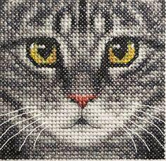 cute cat cross stitch - Google Search