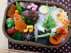 毎日のお弁当 - http://www.e-obento.com/mainichi-Frame-set.htm