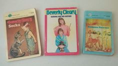 Lot of 3 BEVERLY CLEARY Books: Socks, Ramona and her Mother, Ramona Forever