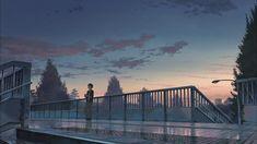 Anime Your Name.  Atardecer Fondo de Pantalla