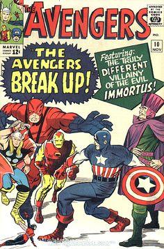 Marvel Avengers Vol 1 Issue 10 MT