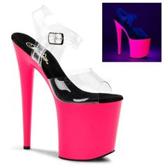 FLAMINGO-808UV Platform Sandals by Pleaser Shoes. FREE Shipping & Returns on Pleaser heels, platform sandals, sexy boots, and…