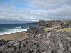 GoldenBeachSkardsvik auf Island