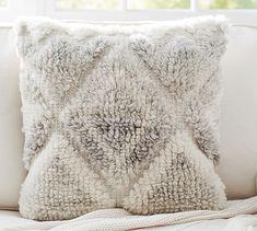 Leela Hand-Woven Pillow Cover #potterybarn, Neutral ($59.50).