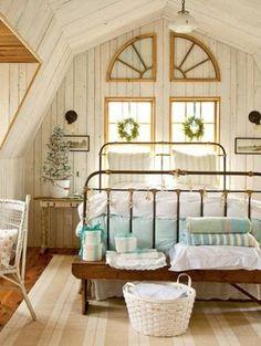 Beach Cozy Teenage Bedroom