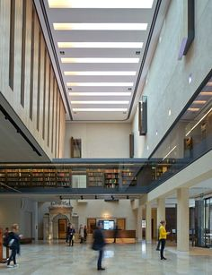 Weston Library - Picture gallery #architecture #interiordesign #library