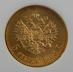 1903 Ap Russia 5 Rouble Collectible Gold Coin Graded By Ngc Ms 65 – Gold Stream Boutique