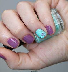 Nails Sencillas Primavera Ideas For 2019 Pedicure Nail Art, Diy Nails, Pedicure Ideas, French Nails, Nail Art Designs, Friendly Nails, Super Nails, Nail Decorations, Beauty Nails