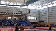 of the week - B. gymnasts in action at the 2015 Canada Cup in Kamloops! Canada Cup, Gymnastics Videos, Gymnasts, Gym Training, Basketball Court, Action, Yoga, City, Sports