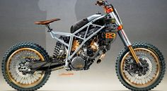 Suzuki DR 600 Scrambler by North East Custom « Custom Bikes « Motorcycles « derestricted