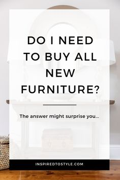 Can I share with you one of the biggest myths people have about design projects?It's the assumption that you need to get rid of ALL of your old furniture and start with a blank slate. Dining Decor, Dining Room Design, Living Room Decor, Bedroom Decor, Interior Design Photography, Design Guidelines, Create Space, Home Reno, New Furniture