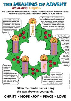 Most recent Absolutely Free Advent Wreath meaning Thoughts Many places of worship host a good Advent-wreath-making event in the very first Thursday with the se Advent Catholic, Catholic Religious Education, Catholic Kids, Kids Church, Advent Candles Meaning Catholic, Church Ideas, Advent Activities, Christmas Activities, Christmas Traditions
