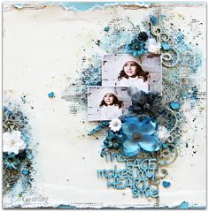 July Inspiration - Two Layouts to ShareWith Di Garling